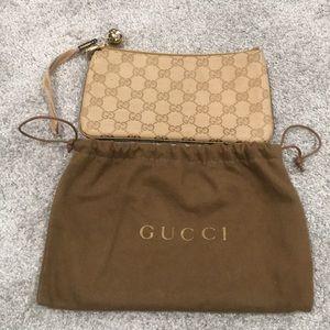 Authentic Gucci Wristlet Pouch